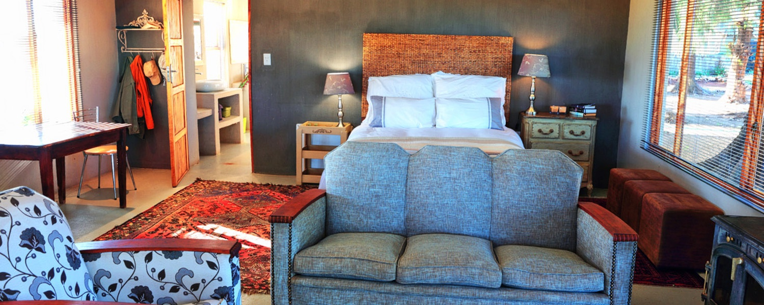 accommodation on Grootvallei Hunting and Guest Farm near Kimberley
